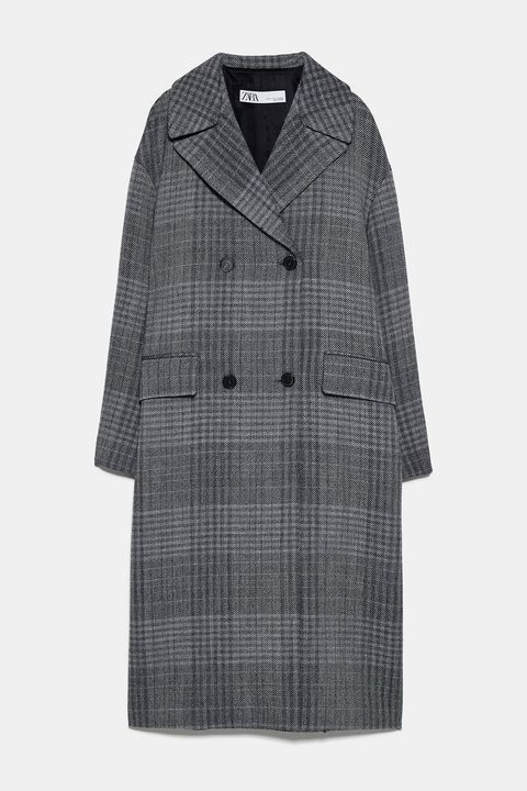 Clothing, Coat, Outerwear, Sleeve, Overcoat, Collar, Trench coat, Jacket, Robe,