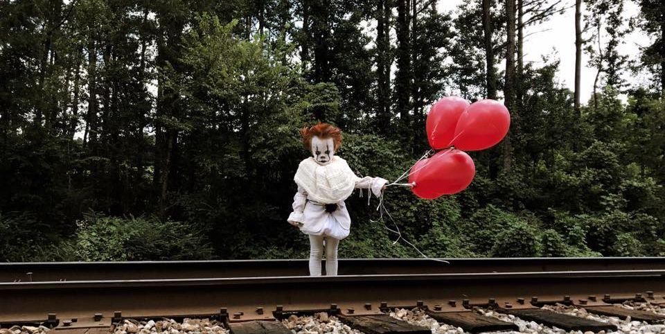 it clown kid costume