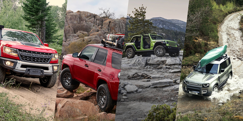 can't wait for the ford bronco   try one of these adventure ready trucks or suvs instead