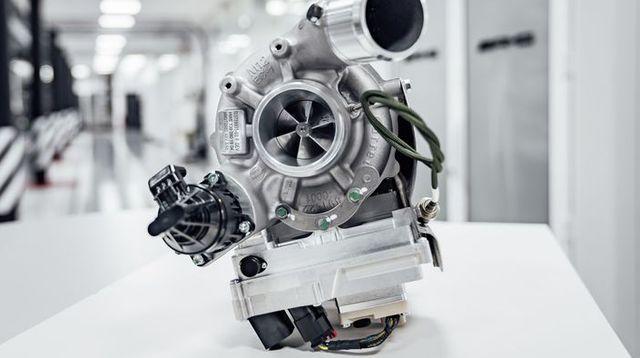 innovative high performance antriebskomponenten made by mercedes amg, elektrifizierter turbolader  innovative high performance drive components made by mercedes amg, electrified turbo charger
