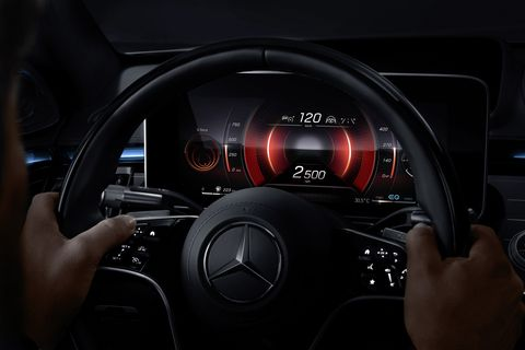 here are some of the technology features in the new s class