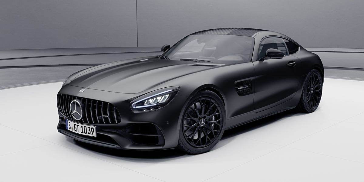 2021 Mercedes-AMG GT Gets More Power, Stealth Edition