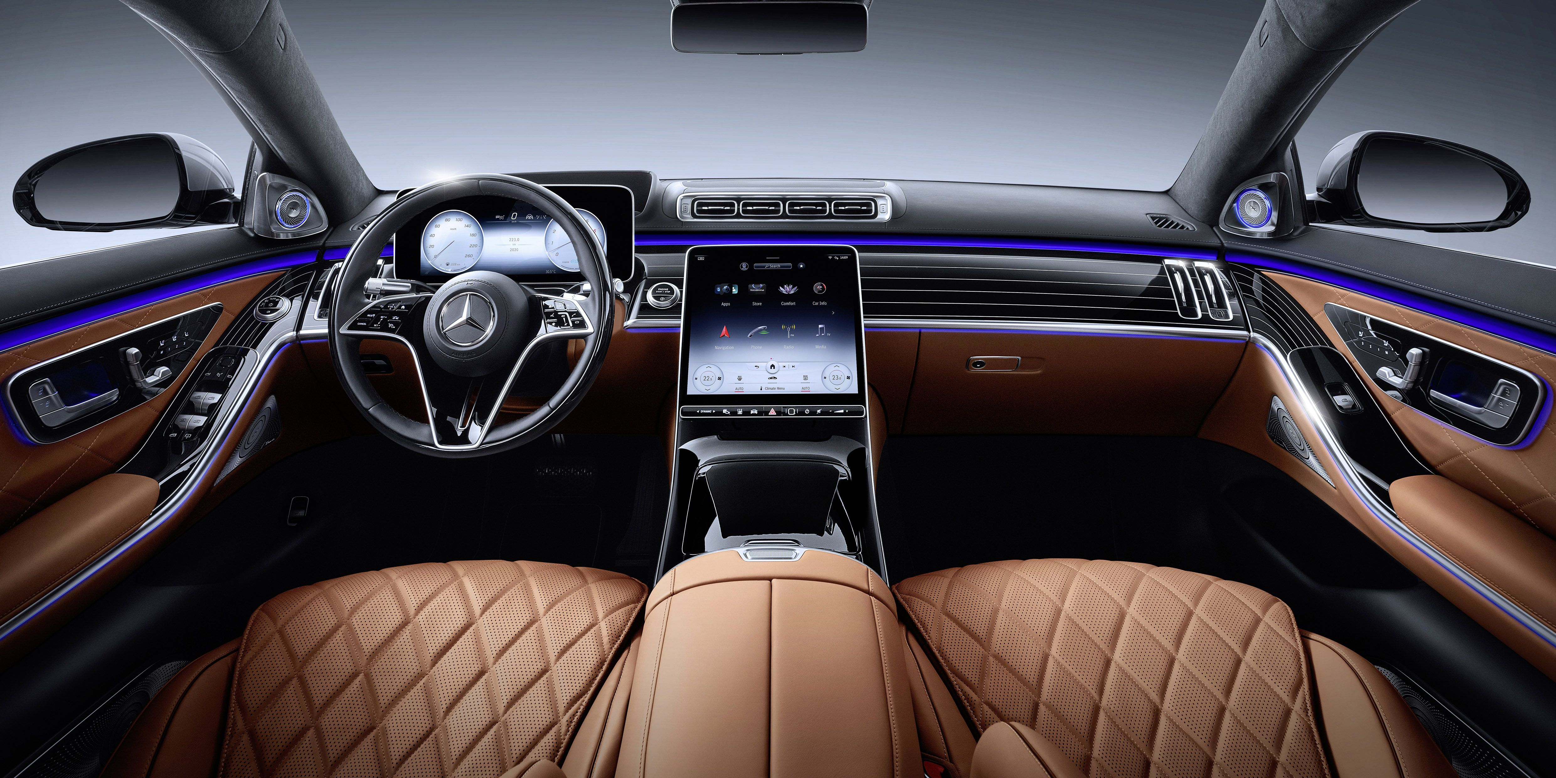 Here Is The 2021 Mercedes Benz S Class Interior
