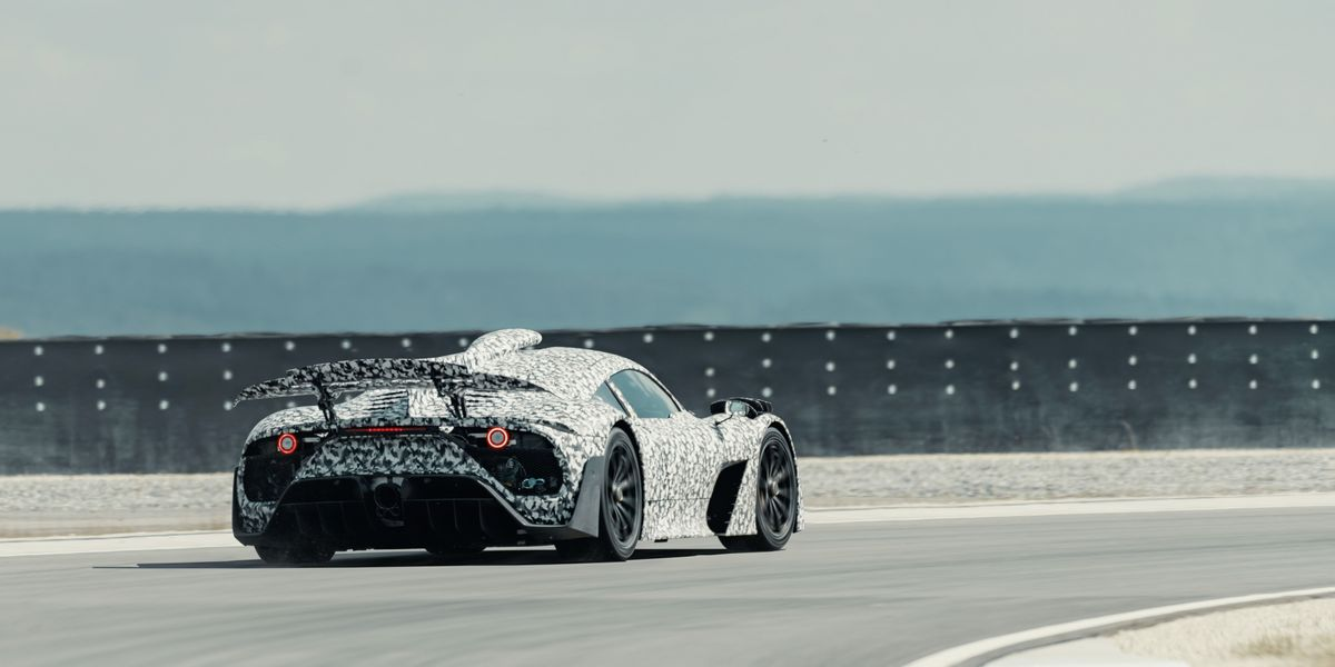 Mercedes-AMG Project One Is Testing at Full Power
