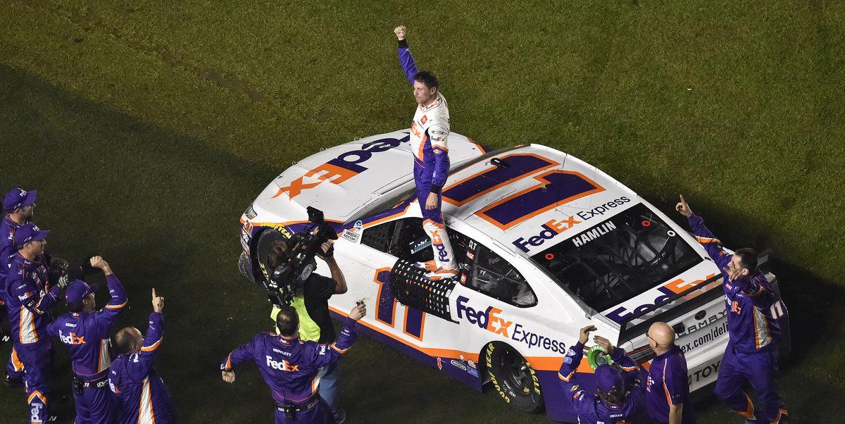 Denny Hamlin Wins Daytona 500 Marred by Horrific Crash at Finish
