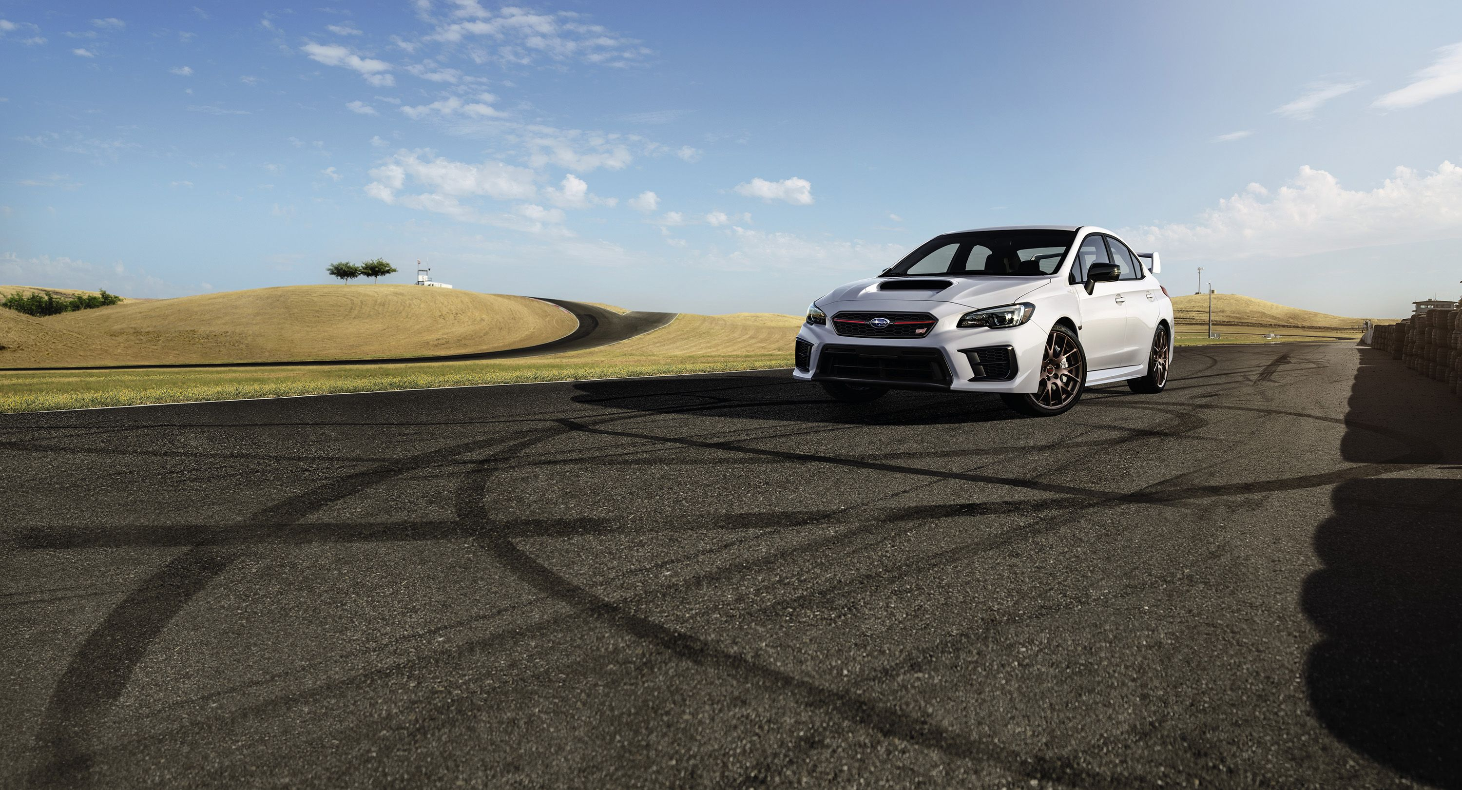 The 2020 Subaru WRX STI Series.White Gets a Retuned Suspension and Ultra-Sticky Tires