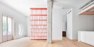 House P82 with Genuin shelf, Estudio Lucas Y Hernández-Gil, Madrid, Spagna