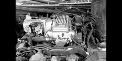japanese engines photographed with canon ae 1 camera