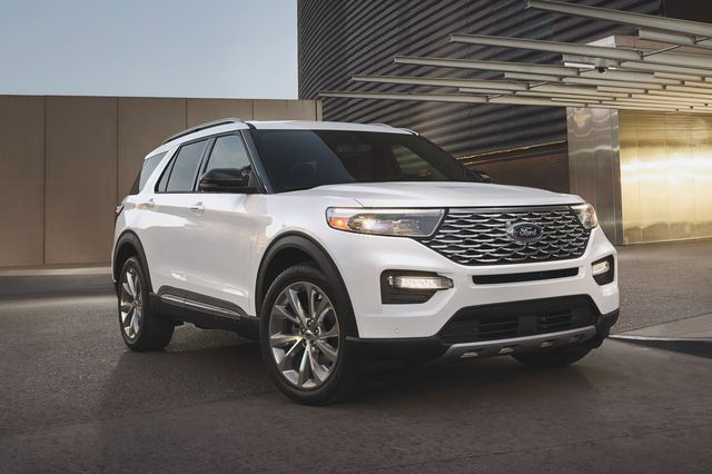 for the first time, explorer platinum is now available as a hybrid, starting at $53,085 msrp