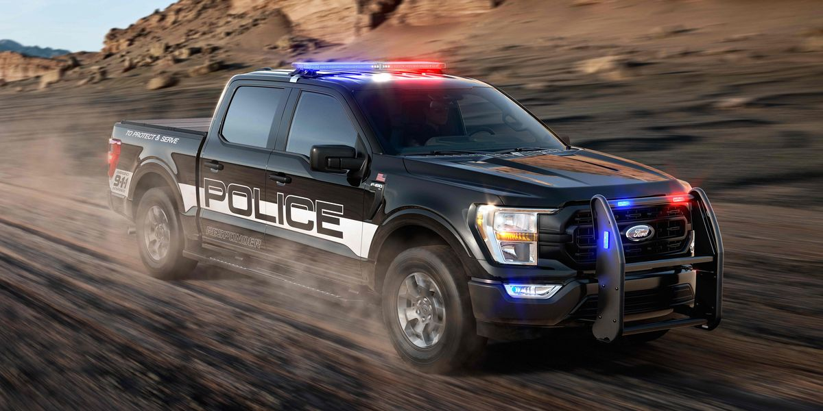 2021 Ford F-150 Police Responder Pickup Claims 120-MPH Top Speed