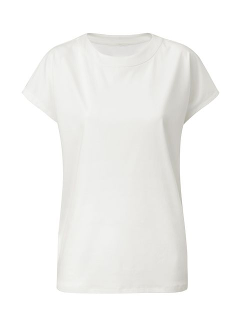 T-shirt, White, Clothing, Sleeve, Top, Neck, Blouse,