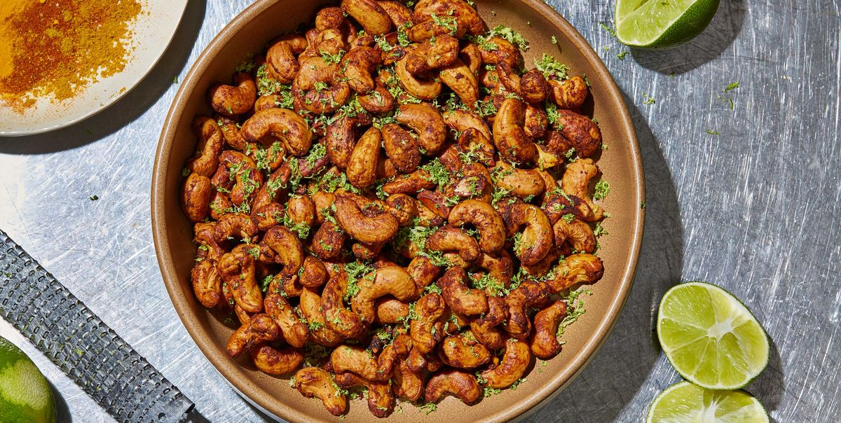 Curry-Lime Cashews