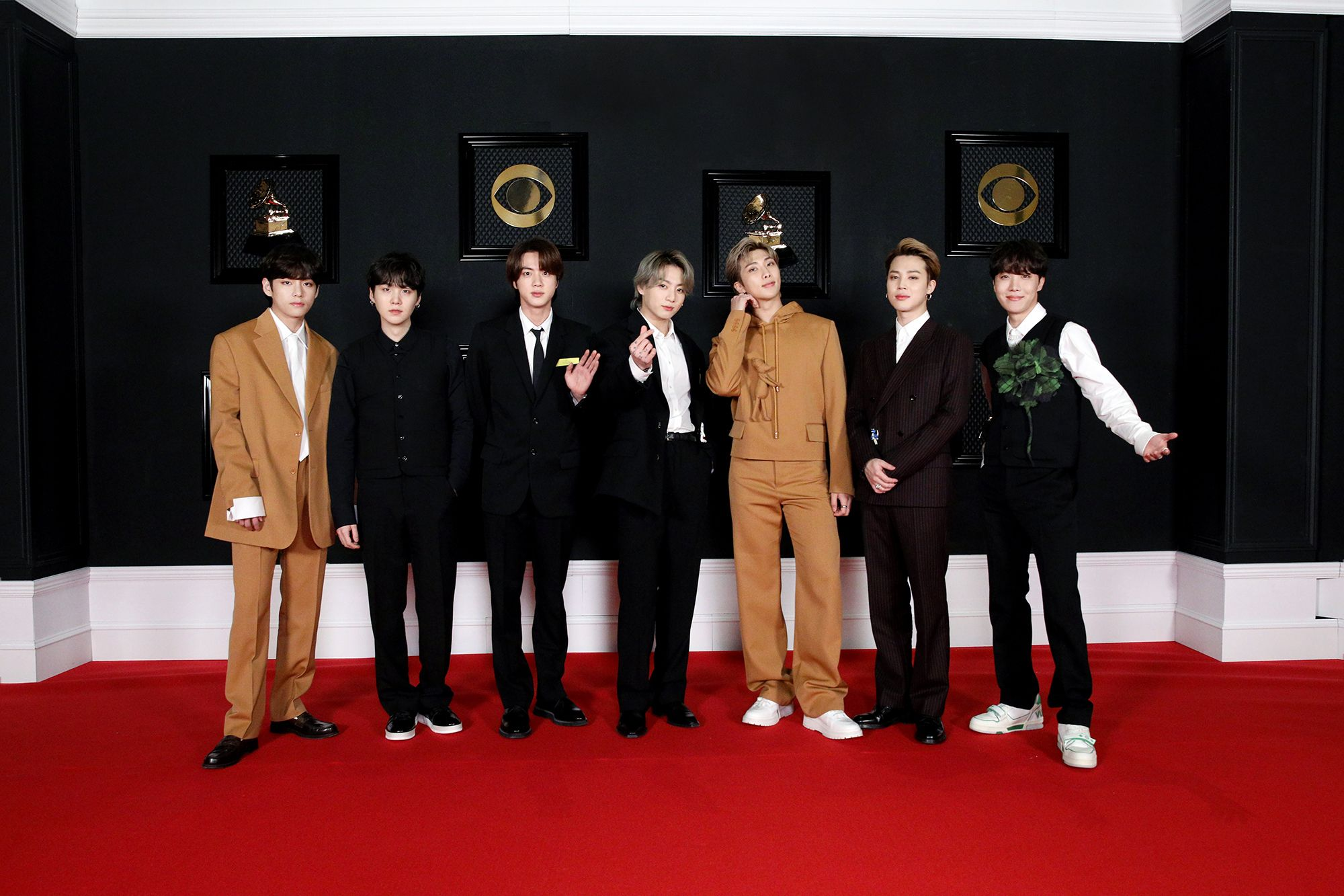 BTS's 20 Grammys Red Carpet Outfits Prove They're Still the ...
