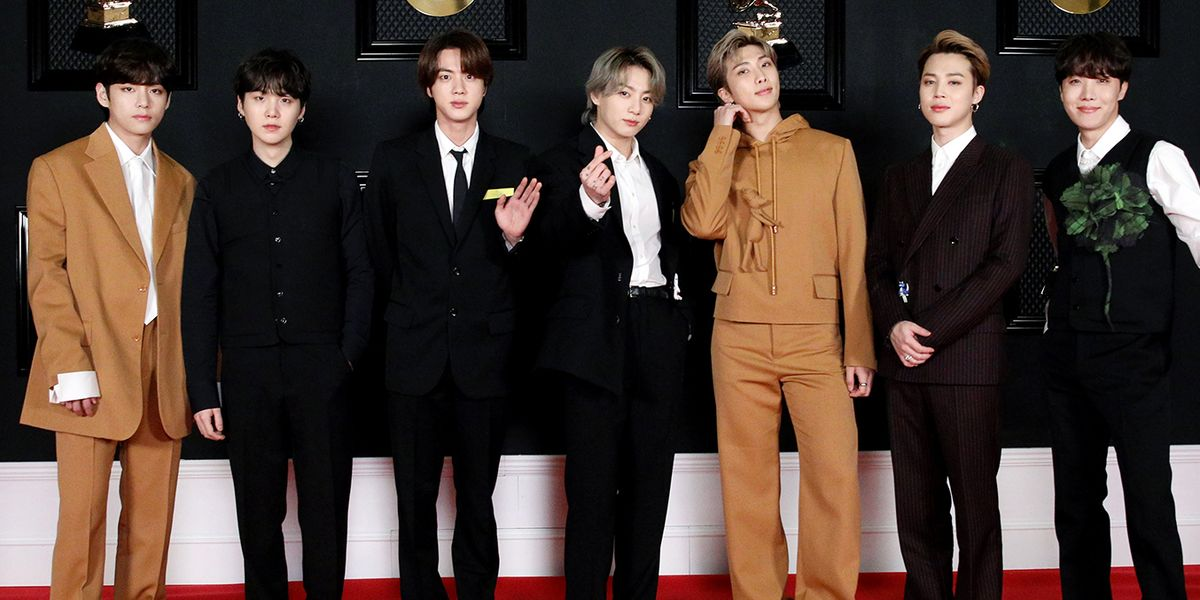 BTS's 2021 Grammys Red Carpet Outfits Prove They're Still the Ultimate Style Kings