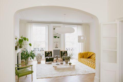 notting hill home retrouvius living room