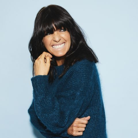 claudia winkleman on workplace nerves, beauty essentials and embracing failure