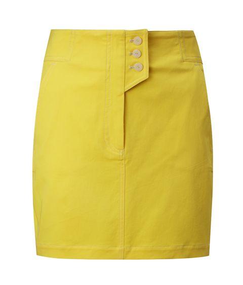 Clothing, Pencil skirt, Yellow, Fashion, Shorts, Active shorts,