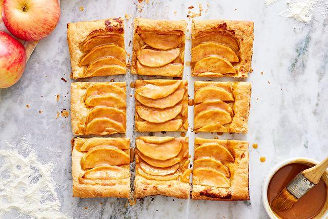 caramel apple tart