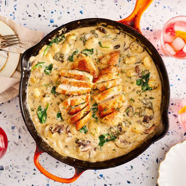 one pan chicken  gnocchi