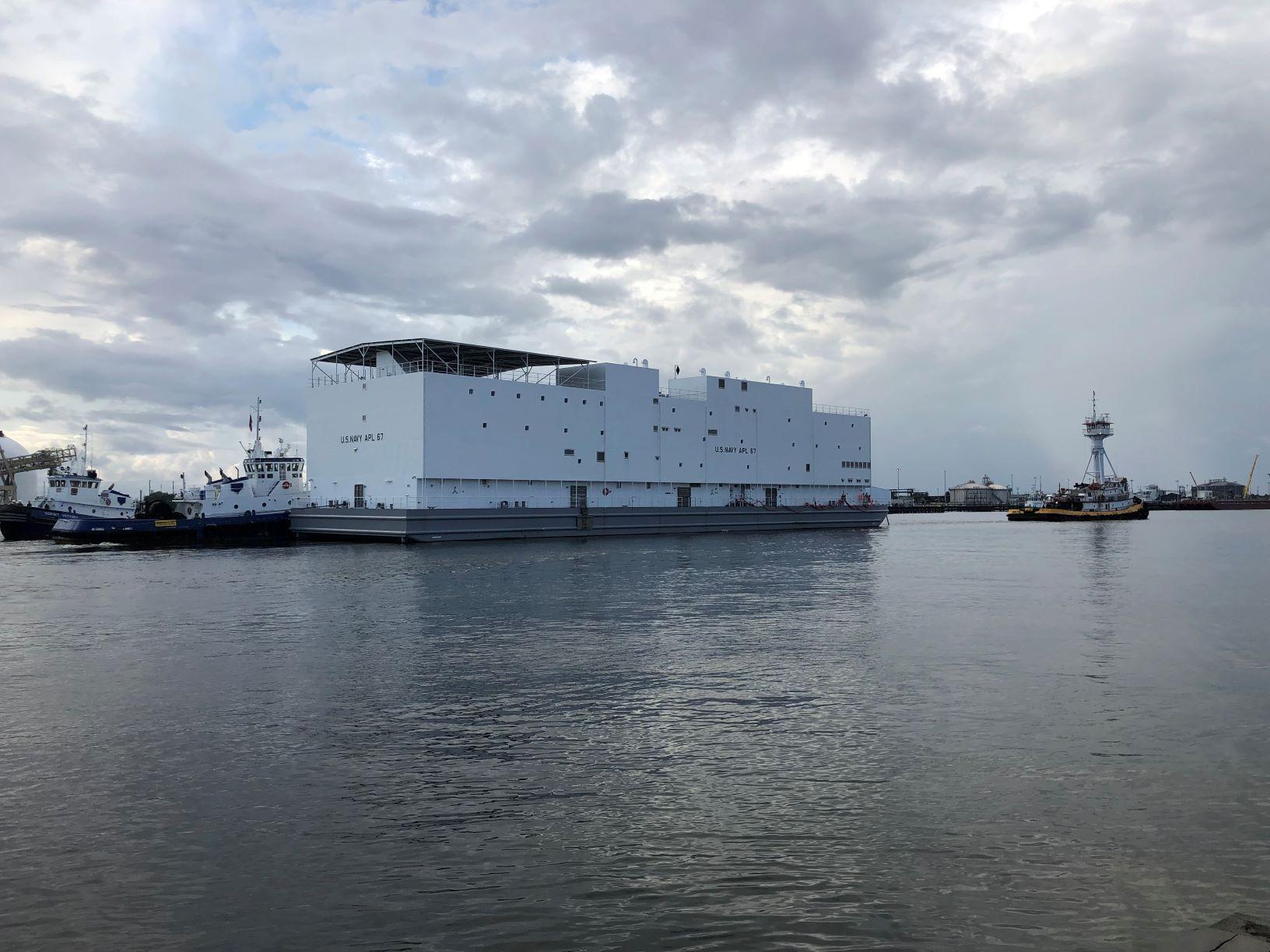 The Navy Built a Ship That Looks Like Noah's Ark
