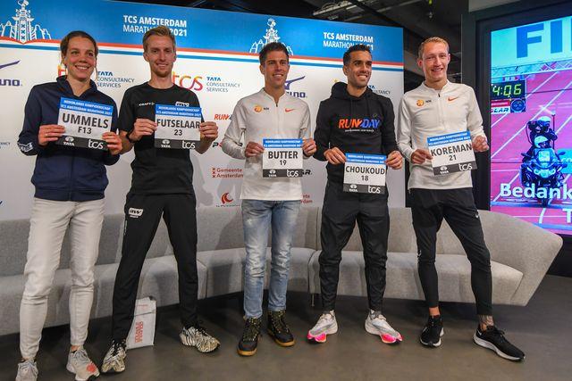 persconferentie amsterdam marathon 2021
