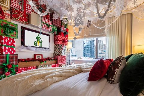 New York City Hotel Opens An Elf Themed Suite For Christmas