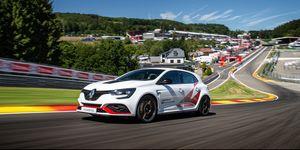 Renault Mégane RS Trophy-R récord en Spa-Francorchamps