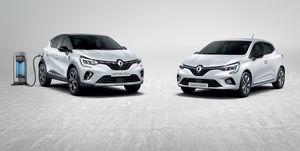 Renault Clio y Captur híbridos