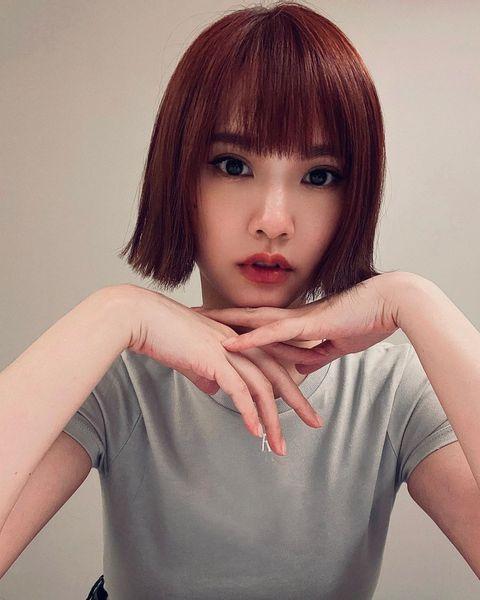 楊丞琳13款短髮造型盤點!「一刀剪無層次短髮、耳圈染」女生的髮型範本必看
