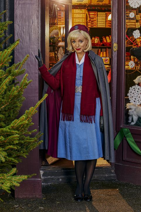 call the midwife's helen george as nurse trixie