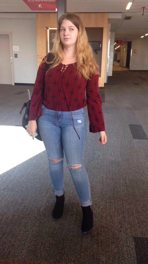 This Teen Was Reportedly Told She Violated Dress Code For -6516