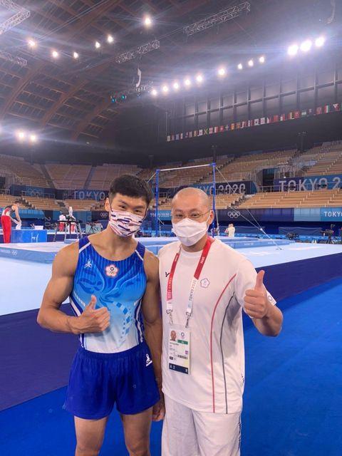 唐嘉鴻在東京奧運體操場刷新台灣紀錄最感謝台師大老師