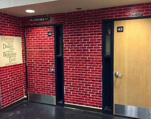 Harry Potter osztályterem