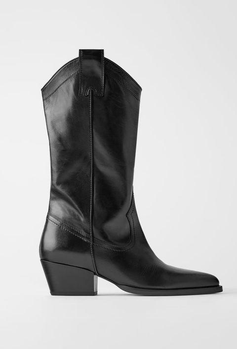 rivenditore di vendita b930f 18db3 Stivali moda Inverno 2020: i texani in vera pelle di Zara sono top