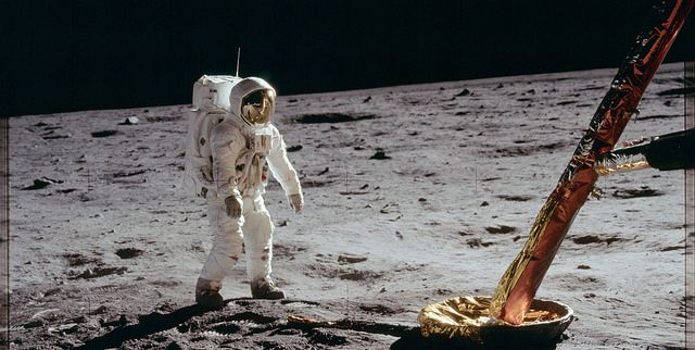 See Outtake Photos From the 1969 Moon Landing