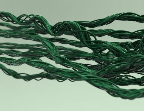 Green, Grass, Rope, Textile, Thread, Plant,