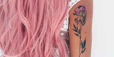 These Temporary Floral Tattoos Are So Realistic, I Want Them All