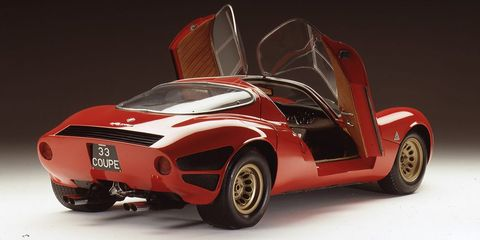This Is The Vintage Alfa Romeo That Inspired The New 8c