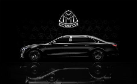 mercedes maybach s class v 12 teaser