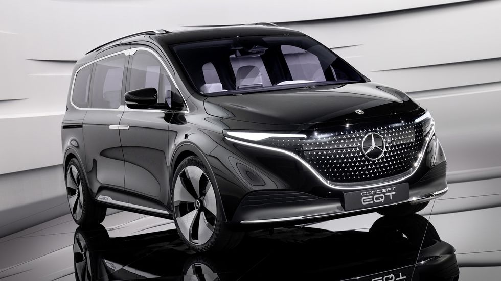 Mercedes EQT Concept: La furgoneta eléctrica llega en forma de prototipo