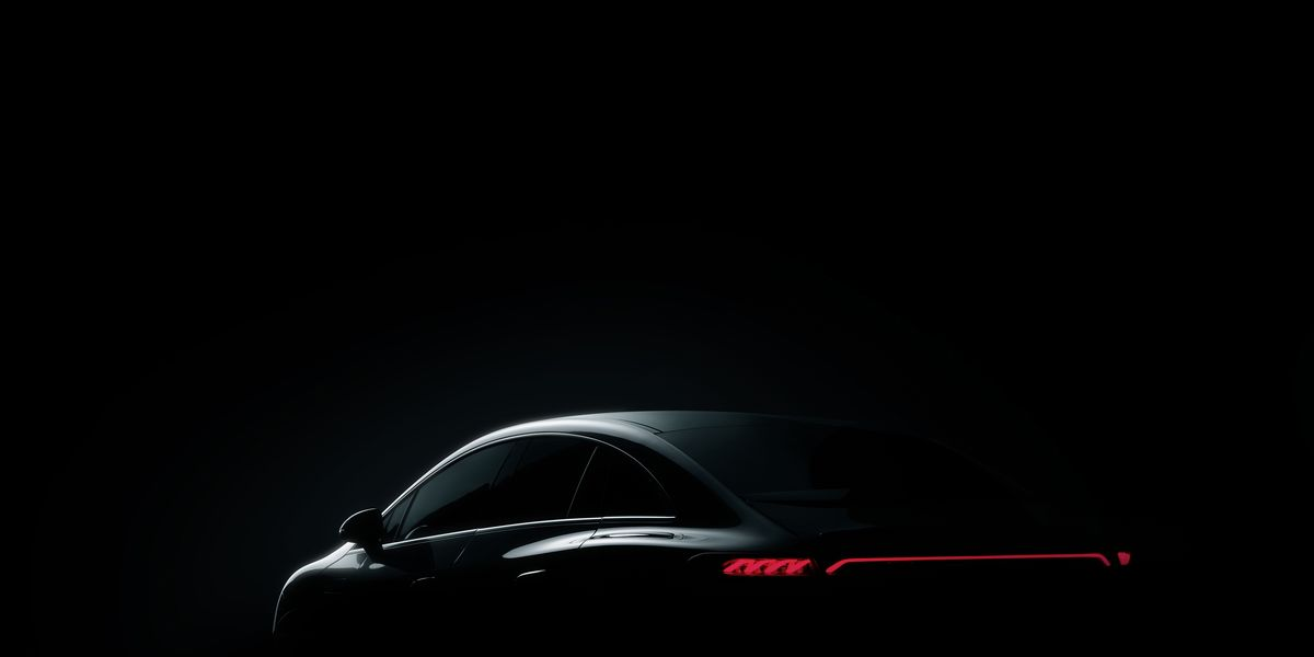 Mercedes-Benz Teases the Electric EQE Ahead of Its Unveiling