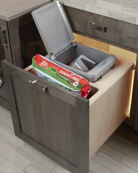storage cabinet, pet friendly kitchen