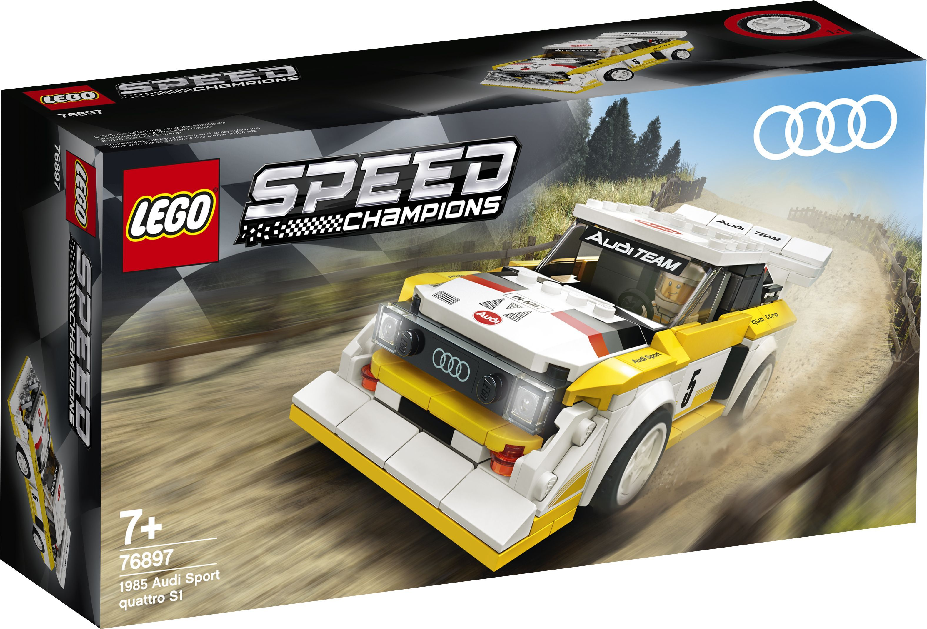 Audi Sport Quattro S1, Ferrari F8 Tributo Become Lego Speed Champions Sets