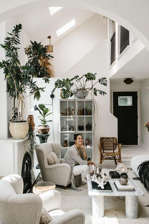 moroccan rug dealer amber el amin's home is a vintage lover's dream