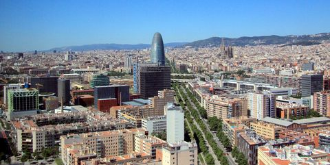 Distrito Poblenou, en Barcelona, proyecto 22@