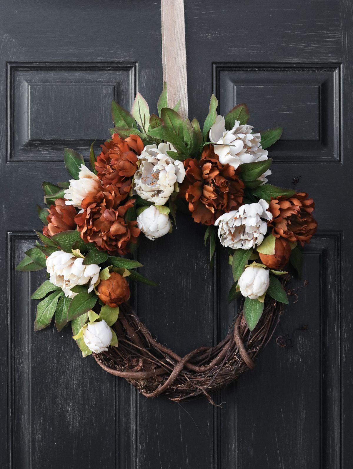 25 Best Diy Fall Wreaths Easy Autumn Wreath Craft Ideas