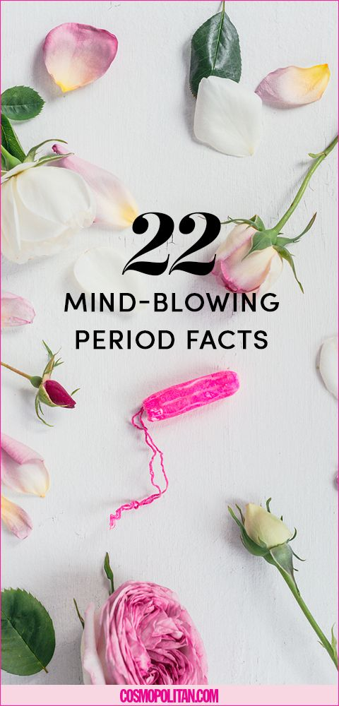 22 Period Facts That'll Blow Your Mind