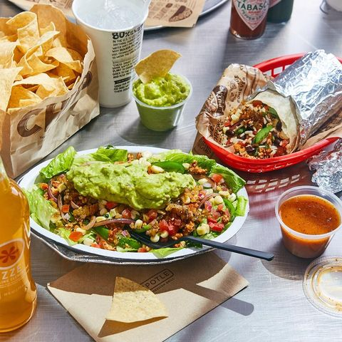 Best low-carb fast foods: Chipotle Burrito Bowl