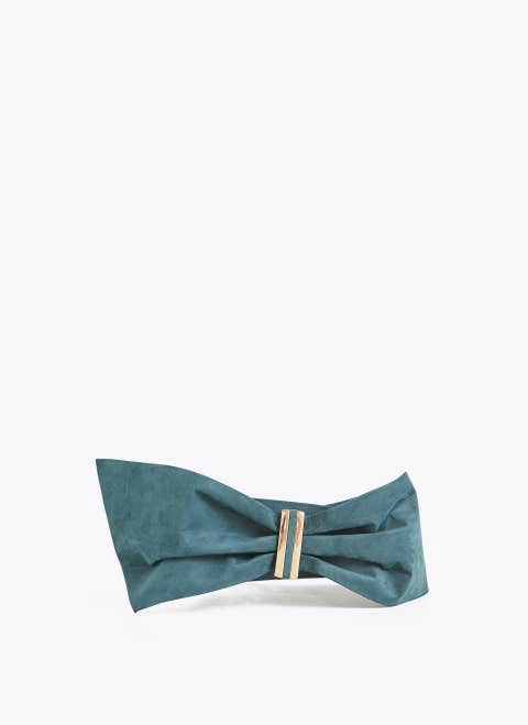 Clothing, Blue, Turquoise, Aqua, Bikini, Bow tie, Teal, Swimwear, Swimsuit top, Turquoise,
