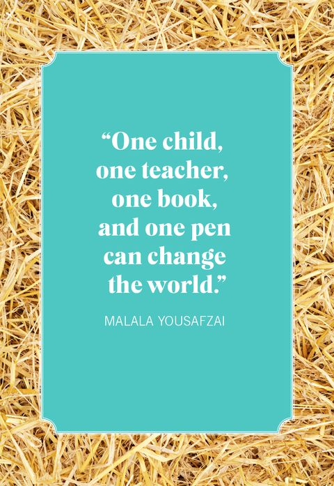 malala quotes about change